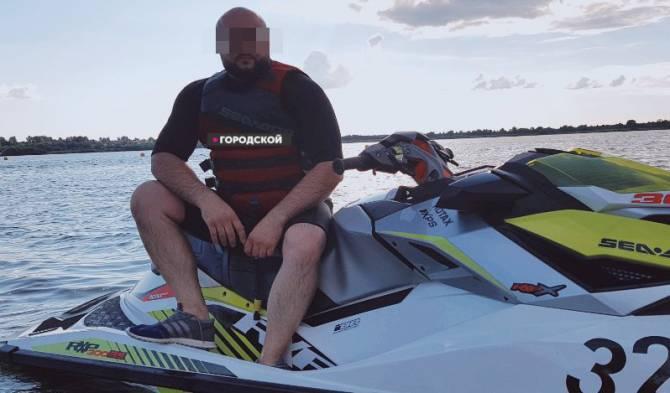 Утонул бизнесмен и аквайбайкерв Трубчевском районе_09082020