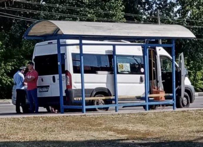 авария-маршрутка-ваз-памятник танкистам-фокинский-17082020