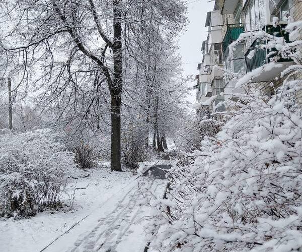 снег карачев