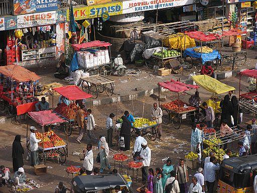 рынок торговля индия