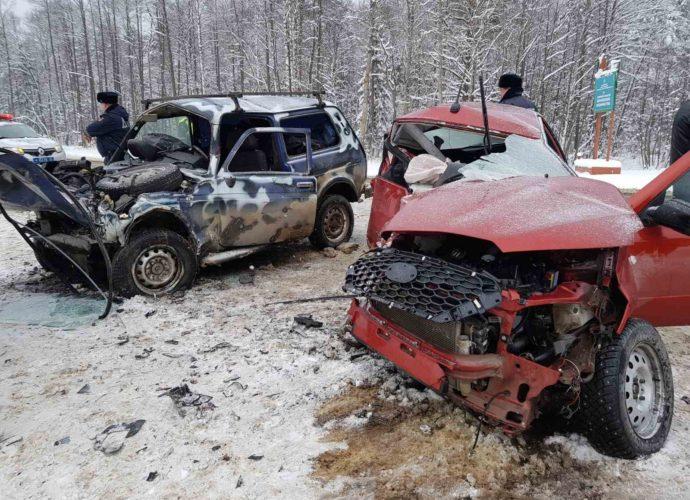авария-карачев-женщина на датсун погибла-встречка-16012021-1