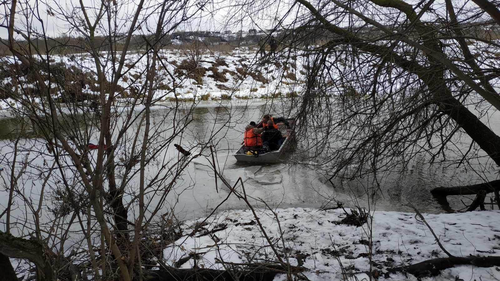 почеп утонул мужчина лед