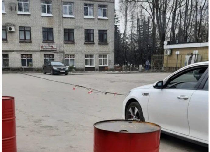 парковка кремнийй