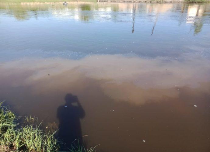 дерьмо стоки канализация десна понтонный мост-15062021